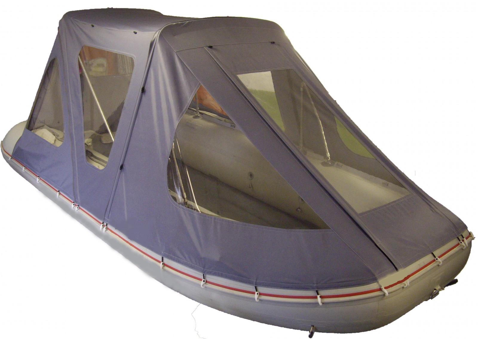 ходовой тент на лодку пвх 370